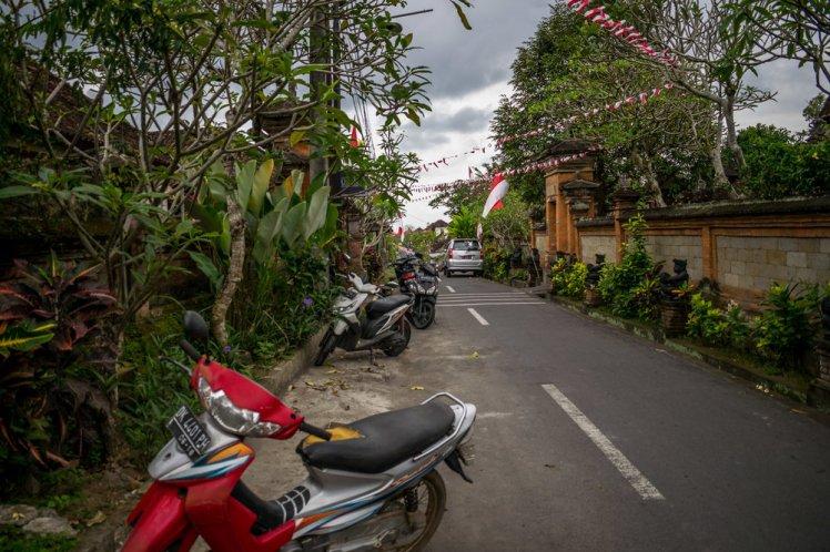 Residential area in Ubud